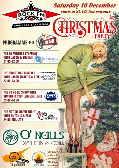 Rock FM Christmas Party at O'Neills Irish Bar & Grill
